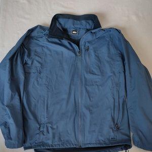 REI full zip hiking jacket. Sz Large. Comfy. Warm